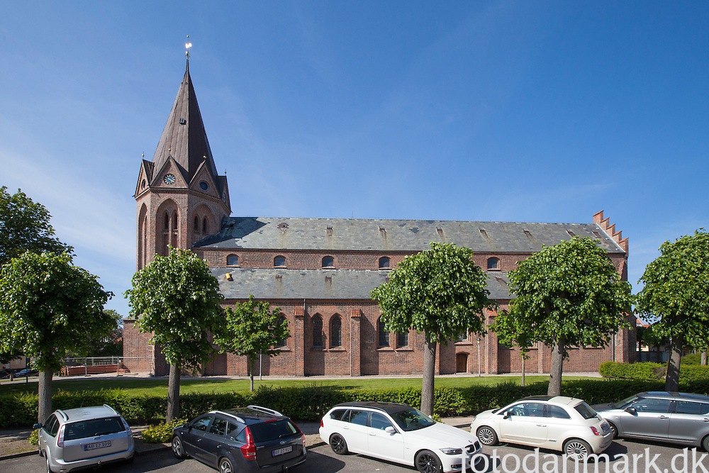 The Church of Our Lady in Assens is the second largest church on the island of Funen, Denmark.