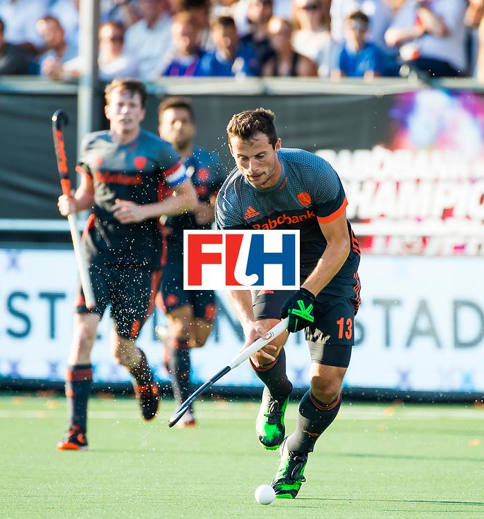 BREDA - Sander Baart (Ned)    tijdens Nederland- Australie (1-3) bij  de Hockey Champions Trophy. COPYRIGHT KOEN SUYK