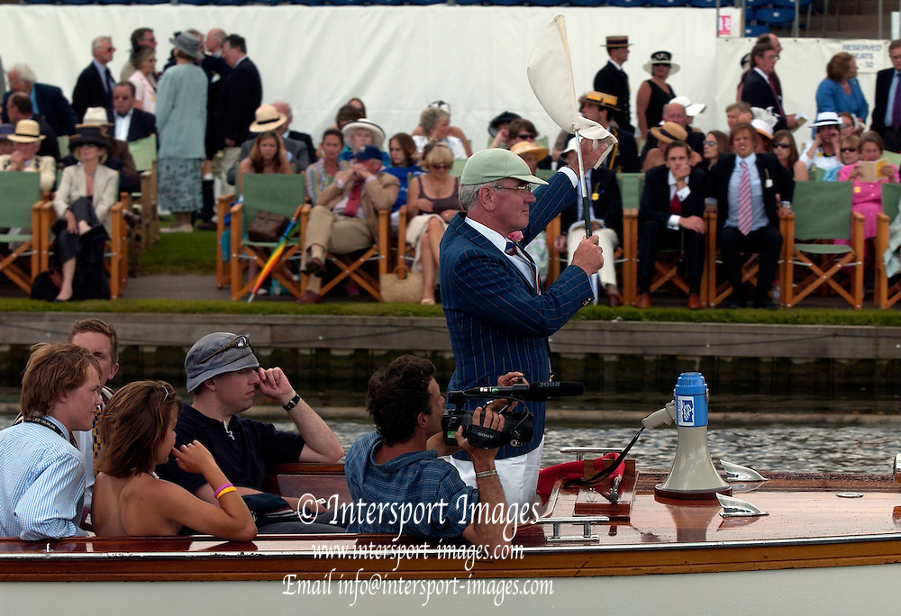 2005 Henley Royal Regatta, Henley on Thames, ENGLAND. Tuesday 29.06.2005 Henley Royal Regatta chairman - Mike Sweeney .Photo  Peter Spurrier. .email images@intersport-images..[Mandatory Credit Peter Spurrier/ Intersport Images] . HRR.