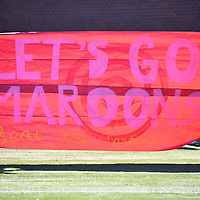 November 5,2016 - Chicago, IL,US - SAA: UChicago (CHI) vs Carnegie Mellon (CMU)  at Amos Alonzo Stagg Stadium in Chicago IL.<br /> Chicago (Maroons) faced off against Carnegie Mellon (Tartans). The Maroons blew a 24-14 1st half lead over Tartans in a tough loss 24-37.
