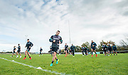 Picture by Allan McKenzie/SWpix.com - 10/11/2016 - Rugby League - 2016 Ladbrokes 4 Nations - New Zealand Kiwis Captains Run - Aspatria Rugby Club, Aspatria, England - The Kiwis warm up with some training drills as Aspatria rugby club. Copyright Image: SWPix / www.photosport.nz