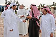 Sheikh Nasser Al Erq and Hadi Al Marri