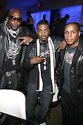 "Treach and Ray J and Vin Rock at "" The P. Diddy presents Bad Boy Entertainment Night "" at Spotlight NYC featuring performances by Cherri Dennis and Vanity Kane on January 29, 2008"