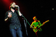 Photos of Matt Pond performing in support of Ben Folds at the Chaifetz Arena in St. Louis.