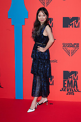Lisa Ranran Hu attends the MTV EMAs 2019 at FIBES Conference and Exhibition Centre on November 03, 2019 in Seville, Spain. Photo by ABACAPRESS.COM