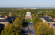 The University of Rochester's Eastman Quad hosts the 164th Commencement Ceremony on Sunday, May 18, 2014.