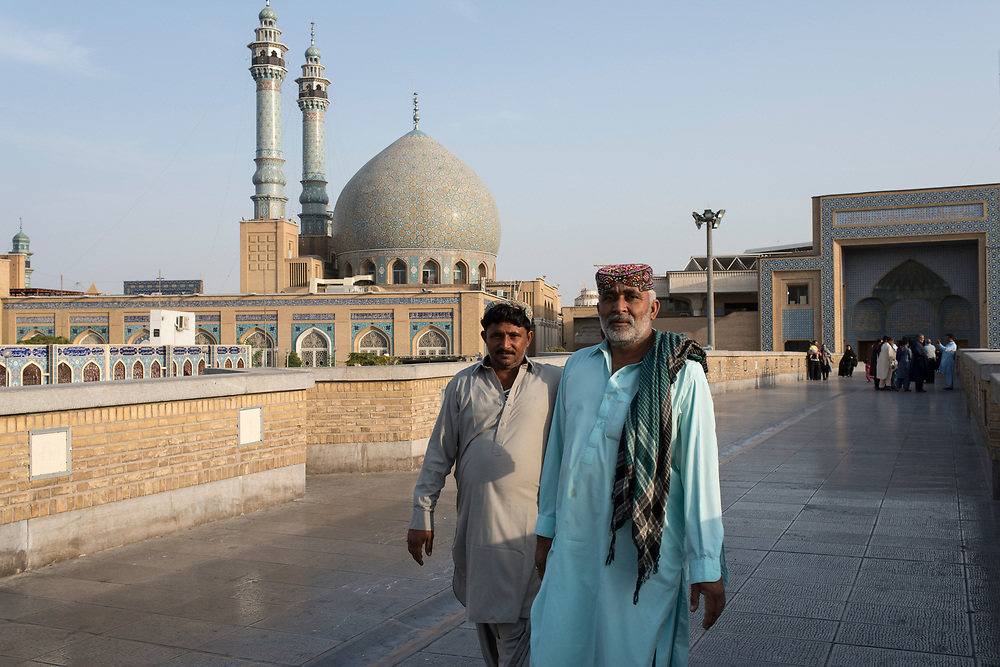During the month of Muharram, the holy city of Qom is a place of pilgrimage