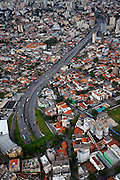 Belo Horizonte_MG, Brasil...Sobrevoo sobre Belo Horizonte, Minas Gerais. Na foto a duplicacao da Avenida Antonio Carlos...Overflight of Belo Horizonte, Minas Gerais. In the photo the duplication of Avenida Antonio Carlos...Foto: LEO DRUMOND / NITRO