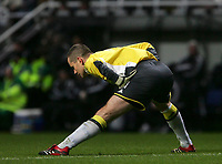 Photo: Andrew Unwin.<br />Newcastle United v Everton. The Barclays Premiership. 25/02/2006.<br />Newcastle's goalkeeper, Shay Given.