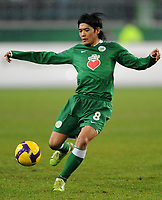 Fotball<br /> Tyskland<br /> Foto: Witters/Digitalsport<br /> NORWAY ONLY<br /> <br /> 26.02.2009<br /> <br /> Yoshito Okubo<br /> Fussball VfL Wolfsburg<br /> UEFA-Cup VfL Wolfsburg - Paris St. Germain