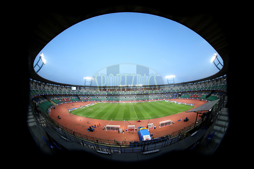 General view  before the match 45 of the Hero Indian Super League between NorthEast United FC and ATK  held at the Indira Gandhi Athletic Stadium, Guwahati India on the 12th January 2018<br /> <br /> Photo by: Arjun Singh  / ISL / SPORTZPICS