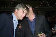 THE MARQUES OF WORCESTER AND WILLIAM STIRLING, Discover Wilton's Music Hall, Fundraising event. Graces alley, Ensign St. London. 5 December 2007. -DO NOT ARCHIVE-© Copyright Photograph by Dafydd Jones. 248 Clapham Rd. London SW9 0PZ. Tel 0207 820 0771. www.dafjones.com.