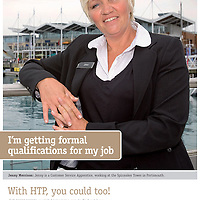 HTP, Poster Campaign, Isle of Wight, England,