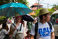 Chinese tourists in Ubud - Bali revisited February 2017