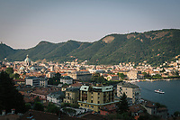 COMO, ITALY - 21 JUNE 2017: A view of Como, in Como, Italy, on June 21st 2017.<br /> <br /> Residents of Como are worried that funds redirected to migrants deprived the town's handicapped of services and complained that any protest prompted accusations of racism.<br /> <br /> Throughout Italy, run-off mayoral elections on Sunday will be considered bellwethers for upcoming national elections and immigration has again emerged as a burning issue.<br /> <br /> Italy has registered more than 70,000 migrants this year, 27 percent more than it did by this time in 2016, when a record 181,000 migrants arrived. Waves of migrants continue to make the perilous, and often fatal, crossing to southern Italy from Africa, South Asia and the Middle East, seeing Italy as the gateway to Europe.<br /> <br /> While migrants spoke of their appreciation of Italy's humanitarian efforts to save them from the Mediterranean Sea, they also expressed exhaustion with the country's intricate web of permits and papers and European rules that required them to stay in the country that first documented them.