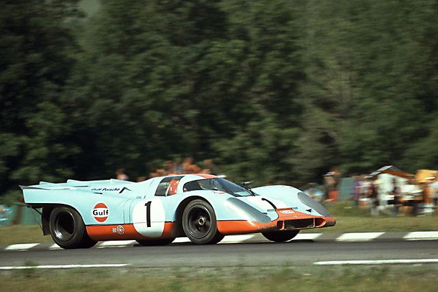 Porsche 917K at 1970 Watkins Gen 6-Hours race