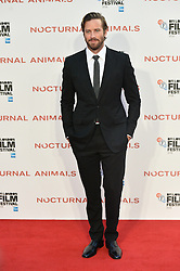 © Licensed to London News Pictures. 14/10/2016. ARMIE HAMMER attends the Nocturnal Animals film premiere of as part of the London Film Festival. London, UK. Photo credit: Ray Tang/LNP