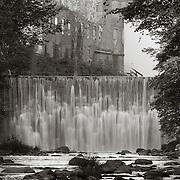 Dam on East Branch Housatonic River, Byron Weston Mill, Dalton, MA