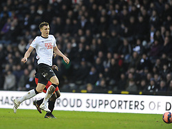 Craig Forsyth Derby County, Derby County v Reading, FA Cup 5th Round, The Ipro Stadium, Saturday 14th Febuary 2015