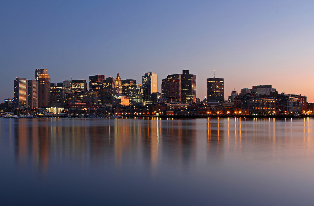 Boston Night Skyline photography images are available as museum quality photography prints, canvas prints, acrylic prints or metal prints. Prints may be framed and matted to the individual liking and decorating needs:<br /> <br /> http://juergen-roth.artistwebsites.com/featured/boston-night-juergen-roth.html<br /> <br /> Boston Night, skyline photography artwork from New England based fine art photographer Juergen Roth showing landmarks such as Boston Downtown, Custom House of Boston, New England Aquarium, One International Place, Boston Marriott on Long Wharf, Prudential Center, old John Hancock building, sailboats of the Boston Harbor, Commercial Wharf and Central Wharf captured on a beautiful spring night shortly after sunset at the blue hour of the night.<br /> <br /> Good light and happy photo making!<br /> <br /> My best,<br /> <br /> Juergen<br /> Fine Art Prints: www.RothGalleries.com<br /> Photo Blog: http://whereintheworldisjuergen.blogspot.com<br /> Twitter: @NatureFineArt<br /> Facebook: https://www.facebook.com/naturefineart