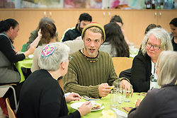 15 March 2019, Jerusalem: On 15 March, a group of Ecumenical accompaniers from the World Council of Churches were invited to share Shabbat dinner with the Kol HaNeshama congregation in Jerusalem. Kol HaNeshama is a reformed Jewish congregation of 350 families in Jerusalem, and one that works actively to be a focal point for Jewish pluralism and social action in the area. Here, Svenn from the UK.