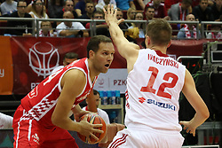 September 17, 2018 - Gdansk, Poland - Adam Waczynski (12) of Poland in action is seen in Gdansk, Poland on 17 September 2018  Poland faces Croatia during the Basketball World Cup China 2019 Qualifiers game in the ERGO Arena sports hall in Gdansk  (Credit Image: © Michal Fludra/NurPhoto/ZUMA Press)