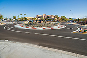 Roundabout in Scottsdale