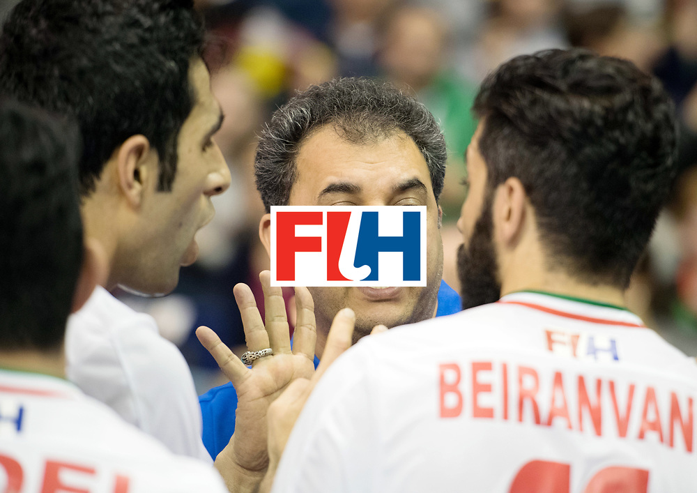 BERLIN - Indoor Hockey World Cup<br /> Bronze: Iran - Australia<br /> foto: SAFAEI Esfandyar<br /> WORLDSPORTPICS COPYRIGHT FRANK UIJLENBROEK