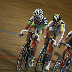 Amy Pieters reed naar het zilver in de klassementswedstrijd