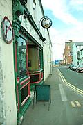 UK, Northern Ireland, County Antrim, Portrush Entrance to the Atlantic Bar