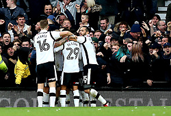 Derby County celebrate Will Hughes of Derby County scoring a goal - Mandatory by-line: Robbie Stephenson/JMP - 11/12/2016 - FOOTBALL - iPro Stadium - Derby, England - Derby County v Nottingham Forest - Sky Bet Championship