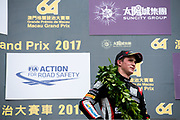 Joel ERIKSSON, Motopark with VEB, Dallara Volkswagen, 64th Macau Grand Prix. 15-19.11.2017.<br /> Suncity Group Formula 3 Macau Grand Prix - FIA F3 World Cup<br /> Macau Copyright Free Image for editorial use only