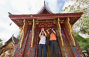 Laos. Luang Prabang. Wat Xiang Thong.
