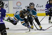 KELOWNA, CANADA - FEBRUARY 18:  Mini Minor Game at the Kelowna Rockets game on February 18, 2017 at Prospera Place in Kelowna, British Columbia, Canada.  (Photo By Cindy Rogers/Nyasa Photography,  *** Local Caption ***