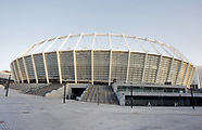 General view of the Olimpiyskiy stadium, venue of the UEFA Champions League Final 2018 - 3 May 2018