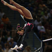 Maggie Nichols, little canada minnesota, in action during the Senior Women Competition at The 2013 P&G Gymnastics Championships, USA Gymnastics' National Championships at the XL, Centre, Hartford, Connecticut, USA. 17th August 2013. Photo Tim Clayton