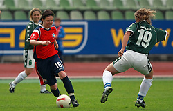Tjasa Tibaut of Pomurje at final game of NZS women football cup between ZNK Pomurje vs ZNK Krka, on June 4, 2008, at ZAK stadium in Ljubljana, Slovenia. Krka won the match 4:1 and became Slovenian Cup Champion. (Photo by Vid Ponikvar / Sportal Images)