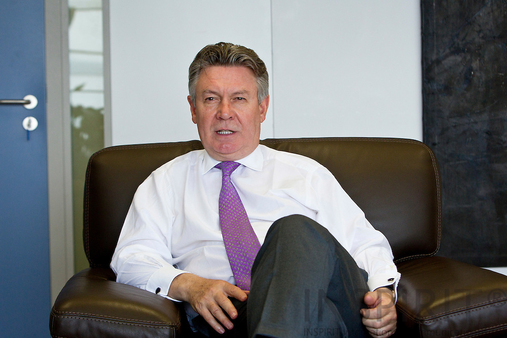 Karel De Gucht, European Union Commissioner for Trade during an interview at his Brussels office Wednesday 18 May 2011.  Photo: Erik Luntang / INSPIRIT Photo