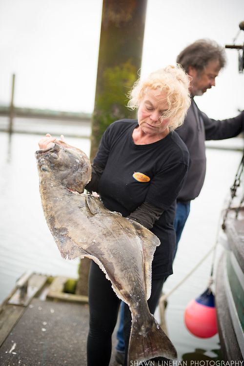 Amber Morris, fish buyer for Local Ocean Seafoods