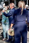 Maxima bezoekt winnaar Appeltje van Oranje