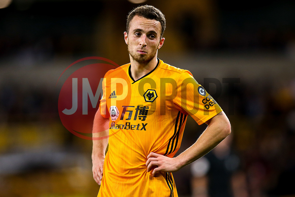 Diogo Jota of Wolverhampton Wanderers looks on - Mandatory by-line: Robbie Stephenson/JMP - 19/08/2019 - FOOTBALL - Molineux - Wolverhampton, England - Wolverhampton Wanderers v Manchester United - Premier League