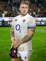 Harry Williams of England- Mandatory by-line: Steve Haag/JMP - 23/06/2018 - RUGBY - DHL Newlands Stadium - Cape Town, South Africa - South Africa v England 3rd Test Match, South Africa Tour