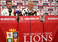 Rugby Union - 2017 British & Irish Lions Tour of New Zealand - Warren Gatland Press Conference<br /> <br /> Lions Head Coach Warren Gatland announces Ken Owens as captain for the Blues match to the press, Auckland. <br /> <br /> COLORSPORT/LYNNE CAMERON