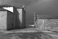 Iglesia de La Virgen de La Barca, Muxia, Galicia. Espana<br /> Photo @ Antonio Nodar/ Imagenes Libres