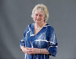 Pictured: Historical novelist Lindsey Davis at the Book Festival.<br /> <br /> &copy; Dave Johnston / EEm