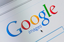 Detail of screenshot from website of Google images website