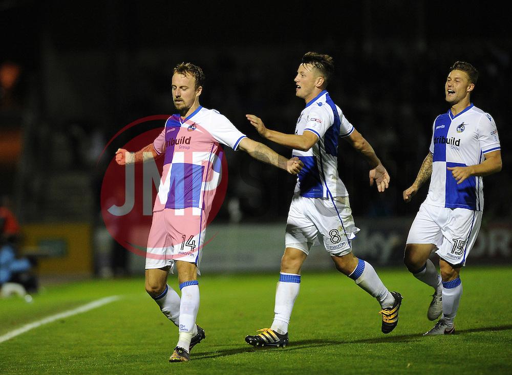 Chris Lines - Mandatory by-line: Neil Brookman/JMP - 11/08/2016 - FOOTBALL - Memorial Stadium - Bristol, England - Bristol Rovers v Cardiff City - EFL League Cup
