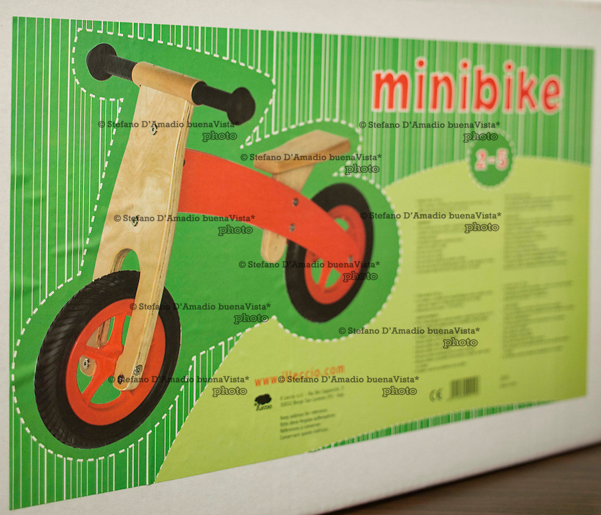 Minibike ideata e costruita da Vittorio Lonzi<br />