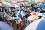 Rainy Pope Francis Mass, Kenya