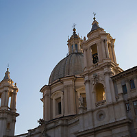 Church of Sant'Agnese in Agone at PIazza Navone, Rome, Italy